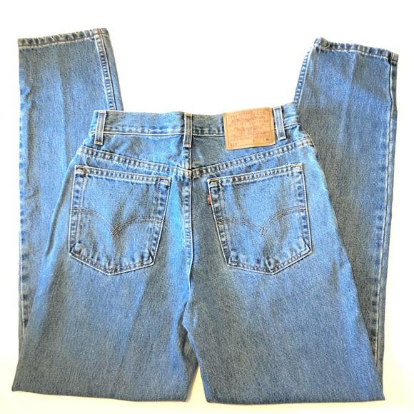 48335af419 Levi's Jeans | Vintage Levis 512 Tapered Leg High Waisted | Poshmark